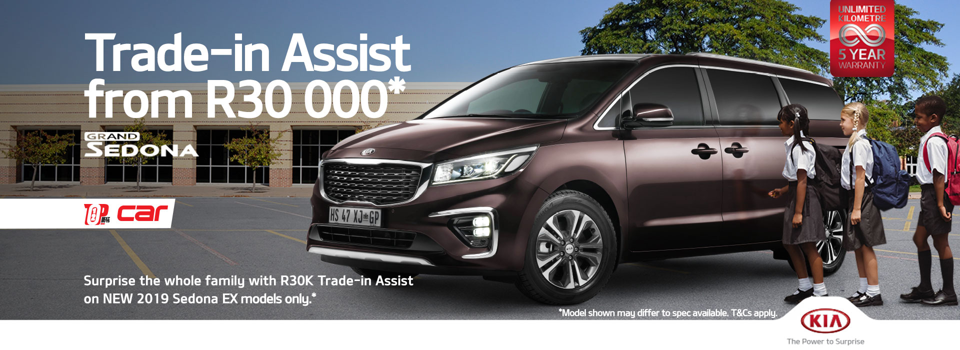 Grand Sedona - R20 000 Trade In Assistance
