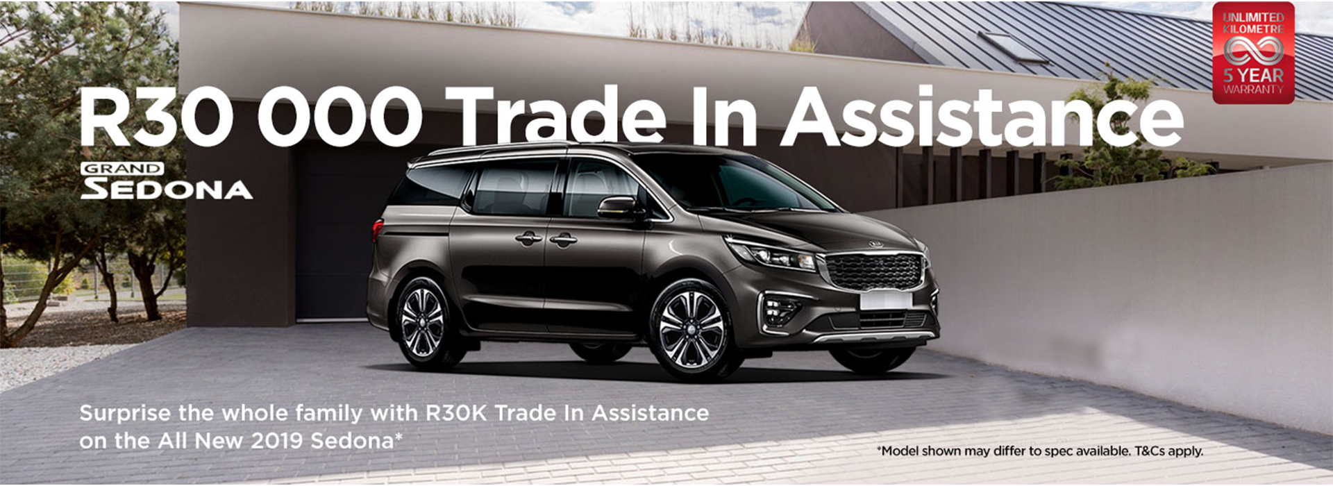 Grand Sedona - R30 000 Trade In Assistance