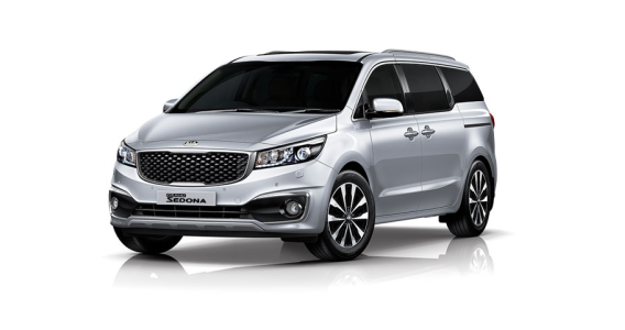 The KIA Sedona at Sandton Makes Room for Memories.