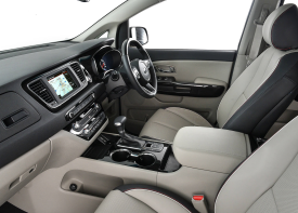 The KIA Sedona at Sandton has the perfect interior environment that offers an innovative approach to comfort.