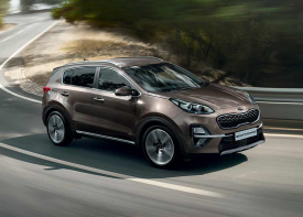 The stunning KIA Sportage manages to stand out no matter where you are it is the perfect combination of sportiness and style.