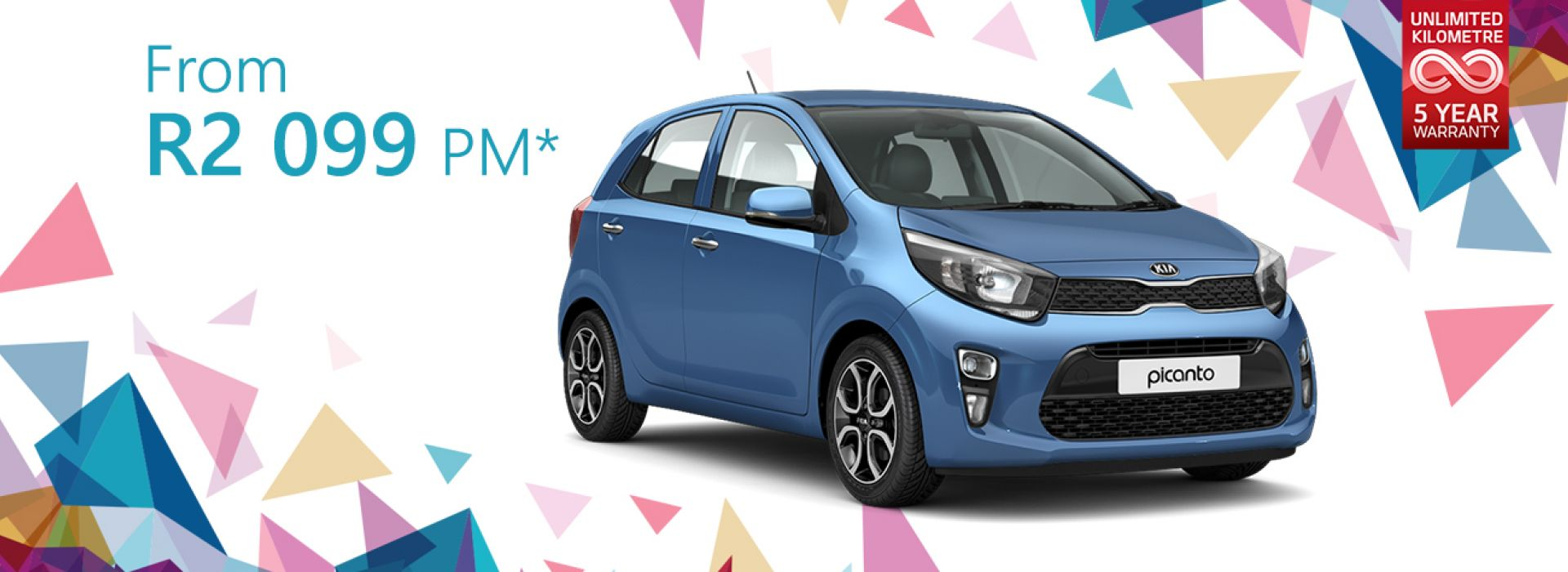 Kia Picanto from R2099 pm