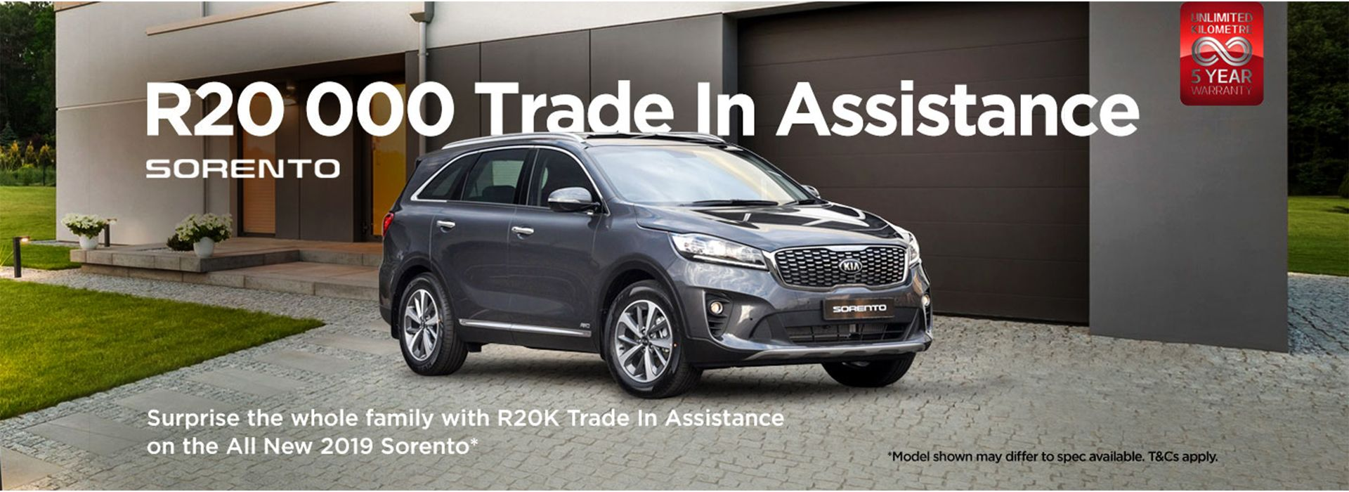 Sorento - R20 000 Trade In  Assistance